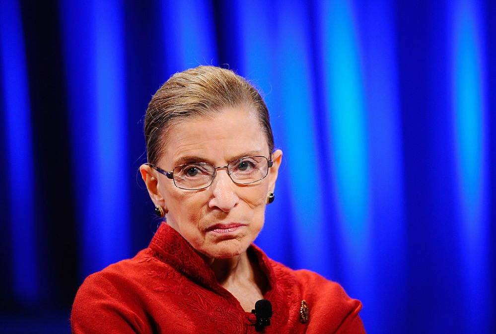 Ginsburg Predicts Controversy and Prases Kavanaugh